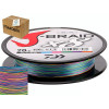 Шнур Daiwa J-Braid X8 Multicolor 0.22мм 37.5lb 150м