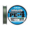 Плетёный шнур Sunline SIGLON PEx4 Dark Green 150m #2,5/40LB 18.5kg